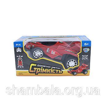 Машинка на радіоуправлінні Limo Toy Гоночна Червона (064956)