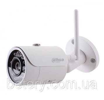 1.3 МП циліндрична вулична Wi-Fi відеокамера з SD картою DH-IPC-HFW1120S-W