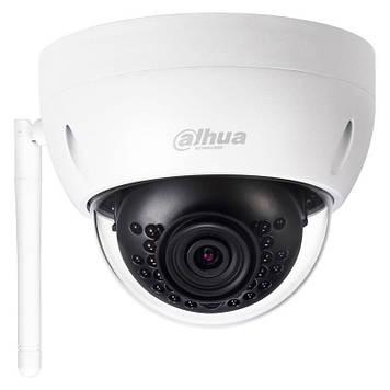 4 МП купольна Wi-Fi відеокамера з SD картою DH-IPC-HDBW1435EP-W-S2 (2.8 ММ)