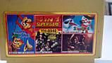 Сборник игр Dendy 8 bit 4 в 1 Chip Dail 2, Snow Bros, Silk Worm, Dungeon YH-8040, фото 2