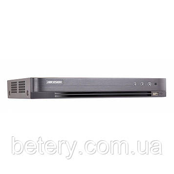 4-канальний HDTVI / HDCVI / AHD / CVBS відеореєстратор Hikvision DS-7204HUHI-K1 / P (PoC)