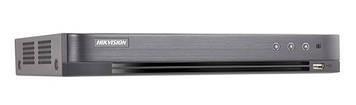 8-канальний Аналог / HD-TV / HDCVI / AHD / IP відеореєстратор DS-7208HUHI-K1
