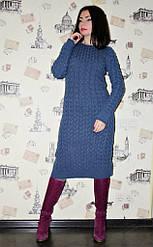 Платье вязанное Настя
