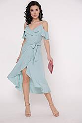 Платье Бони однотон