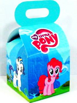 """""""Моя Маленькая пони"""" - Бонбоньерка 10/10/12 см."""
