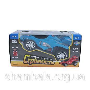 Машинка на радіоуправлінні Limo Toy Гоночна Блакитна (064956)