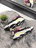 """Жіночі кросівки Adidas Yeezy Boost 700 """"Wave Runner Pink"""". Живе фото. (Репліка ААА+), фото 5"""