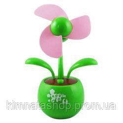 Настільний USB-вентилятор Квітка