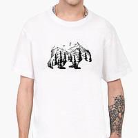 Футболка чоловіча Ведмідь (Bear) Білий (9223-1988), фото 1