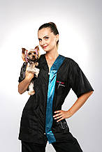 Блуза мужская-женская для грумера UNIGROOMER Groomer Professional®