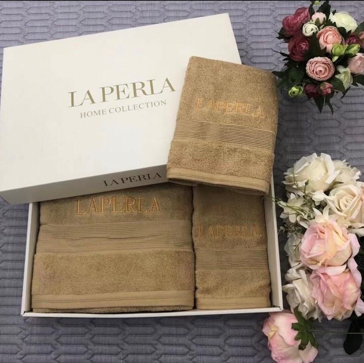 Рушники LA PERLA - шикарний набір в подарунковому упакуванні