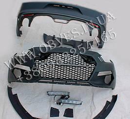 Обвіс Ford Mustang VI стиль GAS Rocket (під одинарні насадки з обох сторін)