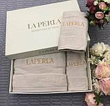 Рушники LA PERLA - шикарний набір в подарунковому упакуванні, фото 2