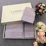 Рушники LA PERLA - шикарний набір в подарунковому упакуванні, фото 3