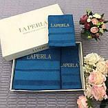 Рушники LA PERLA - шикарний набір в подарунковому упакуванні, фото 4