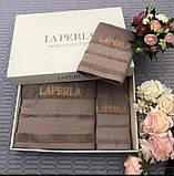 Рушники LA PERLA - шикарний набір в подарунковому упакуванні, фото 5
