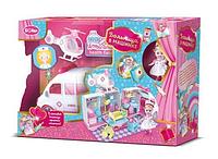 Игровой набор Больница в машинке с куклой и аксессуарами
