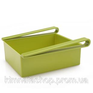 Подвесной органайзер для холодильника, зеленый