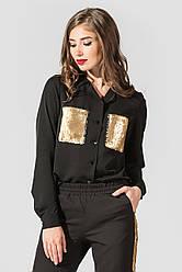 Блуза Динара-2 черный