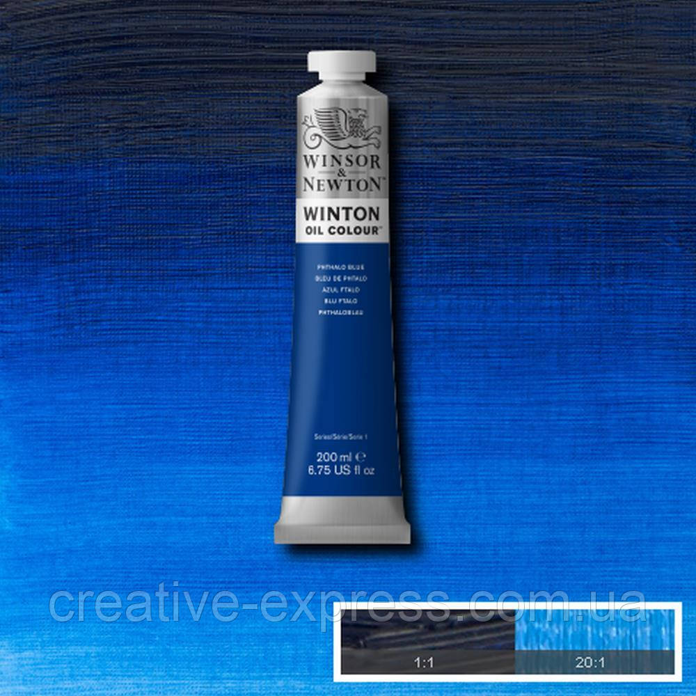 Фарба олійна 30 phthalo blue, 200 ml WINSOR & NEWTON
