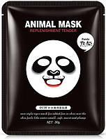 Смягчающая тканевая маска Rorec для лица с принтом Панда Animal Panda Supple Mask 30 g