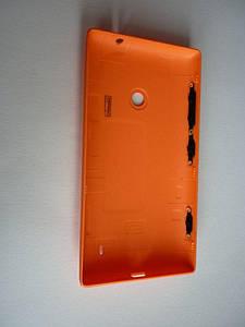 Задняя панель корпуса (крышка) для Nokia 520 Lumia (Оранжевая)