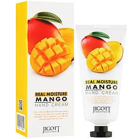 Увлажняющий крем для рук с экстрактом манго Jigott Real Moisture Mango Hand Cream 100 мл