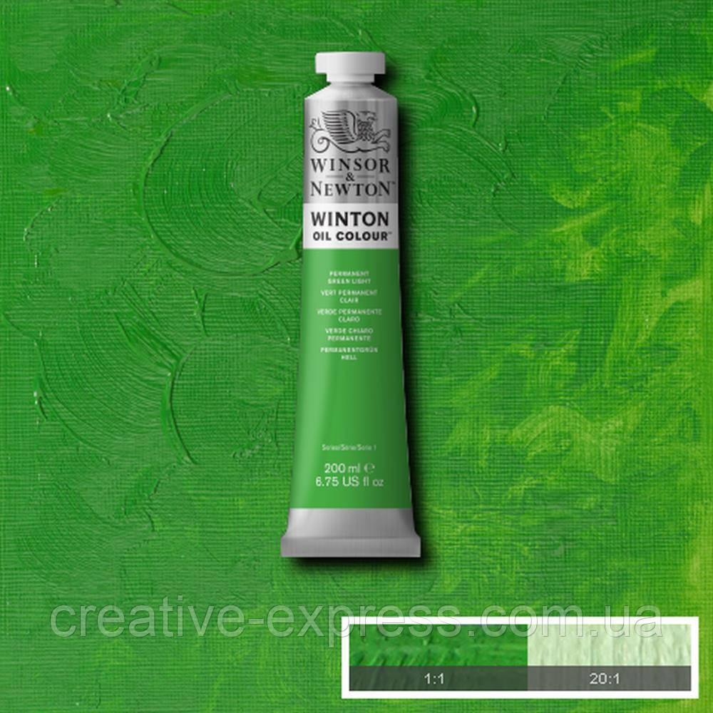 Фарба олійна 48 perm grn light, 200 ml  WINSOR & NEWTON
