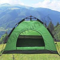 Палатка автоматическая 4-х местная Зеленая