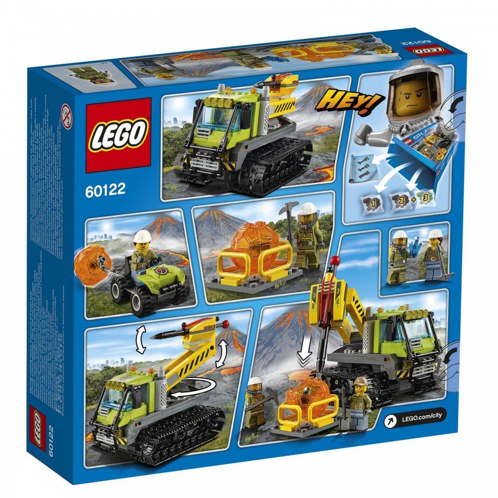 Lego City Гусеничная машина исследователей вулканов 60122