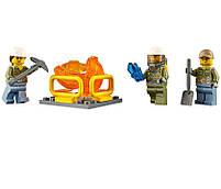 Lego City Гусеничная машина исследователей вулканов 60122, фото 9
