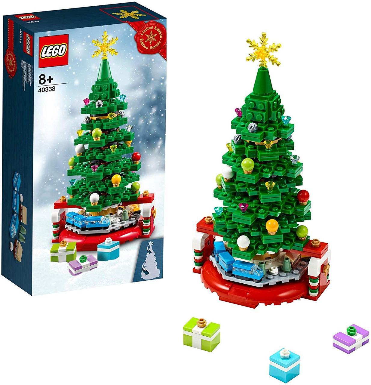 Lego Iconic Новогодняя ёлка 40338