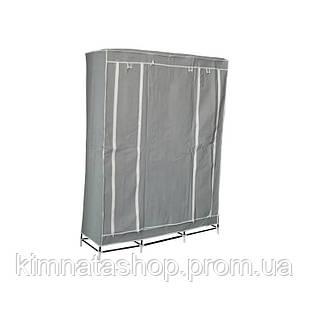 Портативний шафа-органайзер (3 секції), сірий