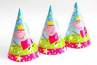 Колпачок праздничный Свинка Пеппа  с коронкой