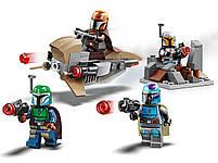 Lego Star Wars Боевой набор: мандалорцы 75267, фото 3