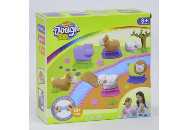 Кінетична глина для ліплення Keylucker Dough 3d KD 2001 з аксесуарами 18 предметів