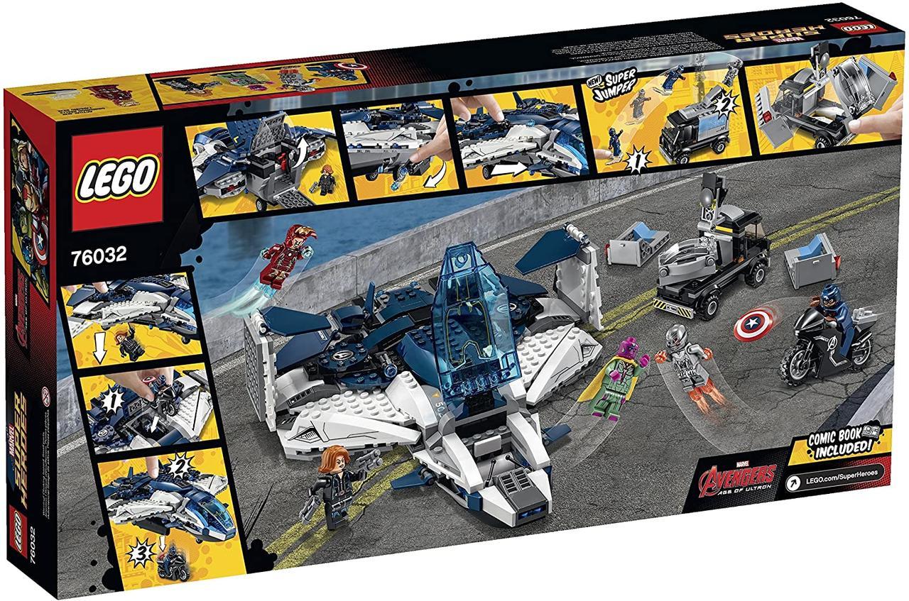 Lego Super Heroes Городская погоня на Квинджете Мстителей 76032