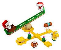 Lego Super Mario Мощная атака Растения-пираньи. Дополнительный набор 71365, фото 2