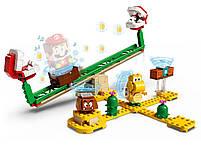 Lego Super Mario Мощная атака Растения-пираньи. Дополнительный набор 71365, фото 3