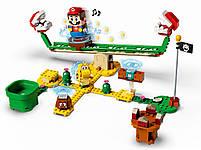 Lego Super Mario Мощная атака Растения-пираньи. Дополнительный набор 71365, фото 4