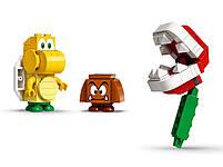 Lego Super Mario Мощная атака Растения-пираньи. Дополнительный набор 71365, фото 5