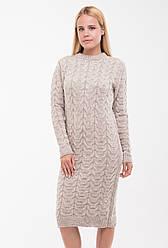 Платье вязанное Колосок