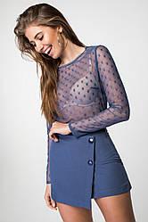 Блуза-сетка 21135
