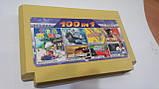 Картридж Dendy 8 bit 100 в1 (Battle City/Super Mario/F1 Race/Jewelry)EET-024, фото 2