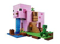 Lego Minecraft Будинок-свиня 21170, фото 3