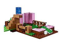 Lego Minecraft Будинок-свиня 21170, фото 4