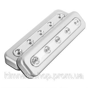Бездротові самоклеючі LED світильники Стік Енд Клік