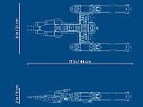 Lego Star Wars Зоряний винищувач Повстанців типу Y 75249, фото 6