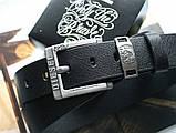Мужской ремень Diesel leather black, фото 4