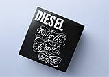 Мужской ремень Diesel leather black, фото 5